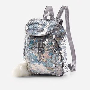 Justice Mini Backpack Sequins
